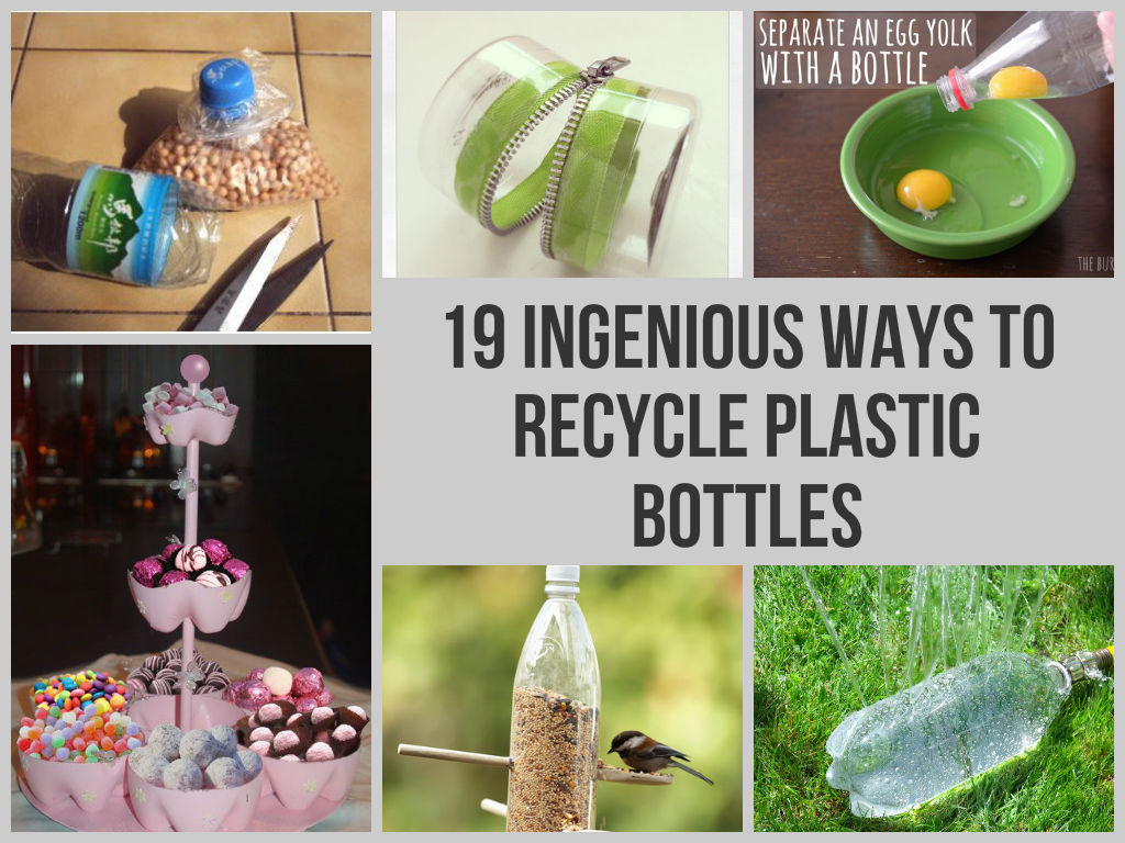 19 ingenious ways to recycle plastic bottles for Diy recycled plastic bottles