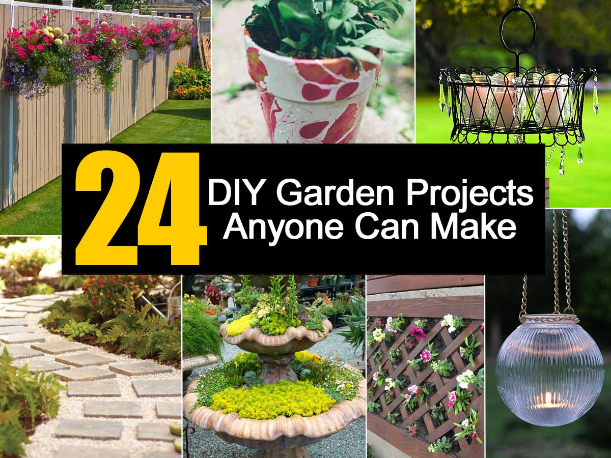 24 diy garden projects anyone can make - Garden ideas diy ...