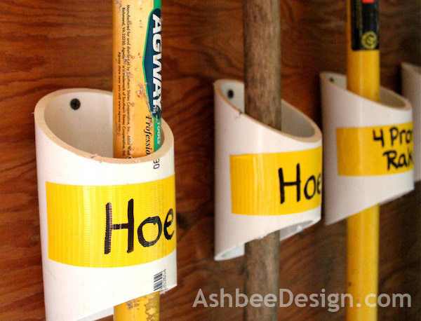 How To Keep Your Garden Equipment Tidy Diy Tool Storage