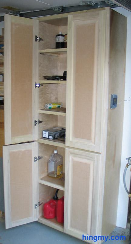 Building And Fixing A Full Height Storage Cabinet