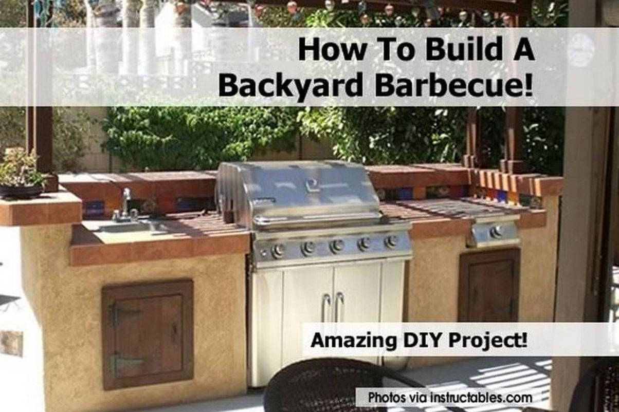 Backyard Barbecue : How To Build A Backyard Barbecue!