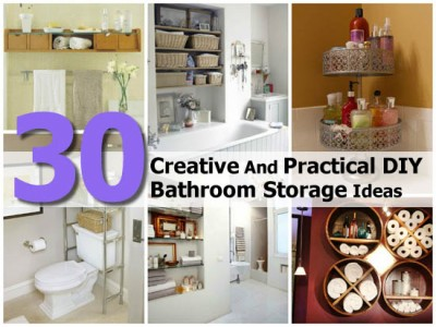 30 creative and practical diy bathroom storage ideas - Ultimate guide to bathroom corner bath ideas for your small room ...