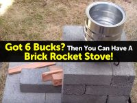 Got 6 Bucks? Then You Can Have A Brick Rocket Stove!