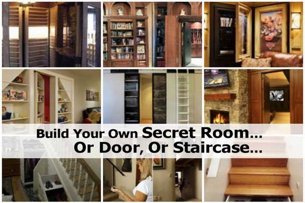 Build your own secret room or door or staircase for Build your home