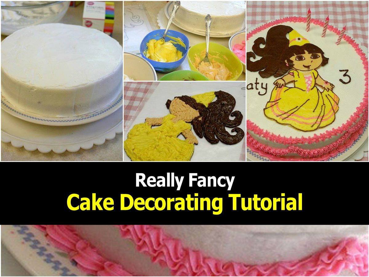 Really Fancy Cake Decorating Tutorial