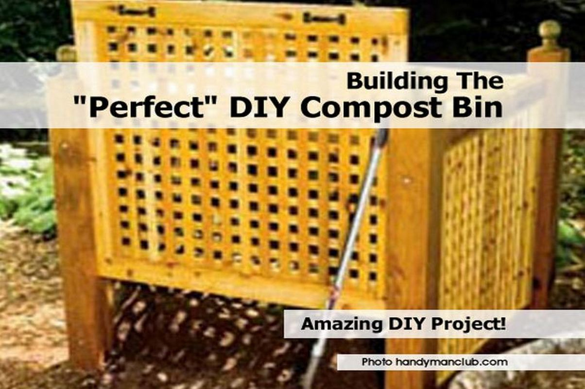 """Building The """"Perfect"""" DIY Compost Bin"""