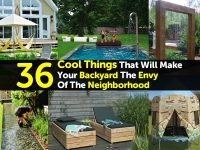 36 Cool Things That Will Make Your Backyard The Envy Of The Neighborhood