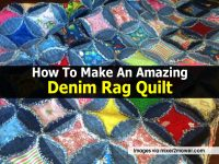 How To Make An Amazing Denim Rag Quilt