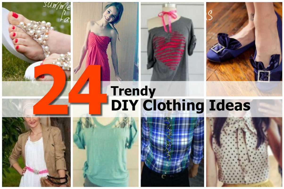 24 Trendy Diy Clothing Ideas