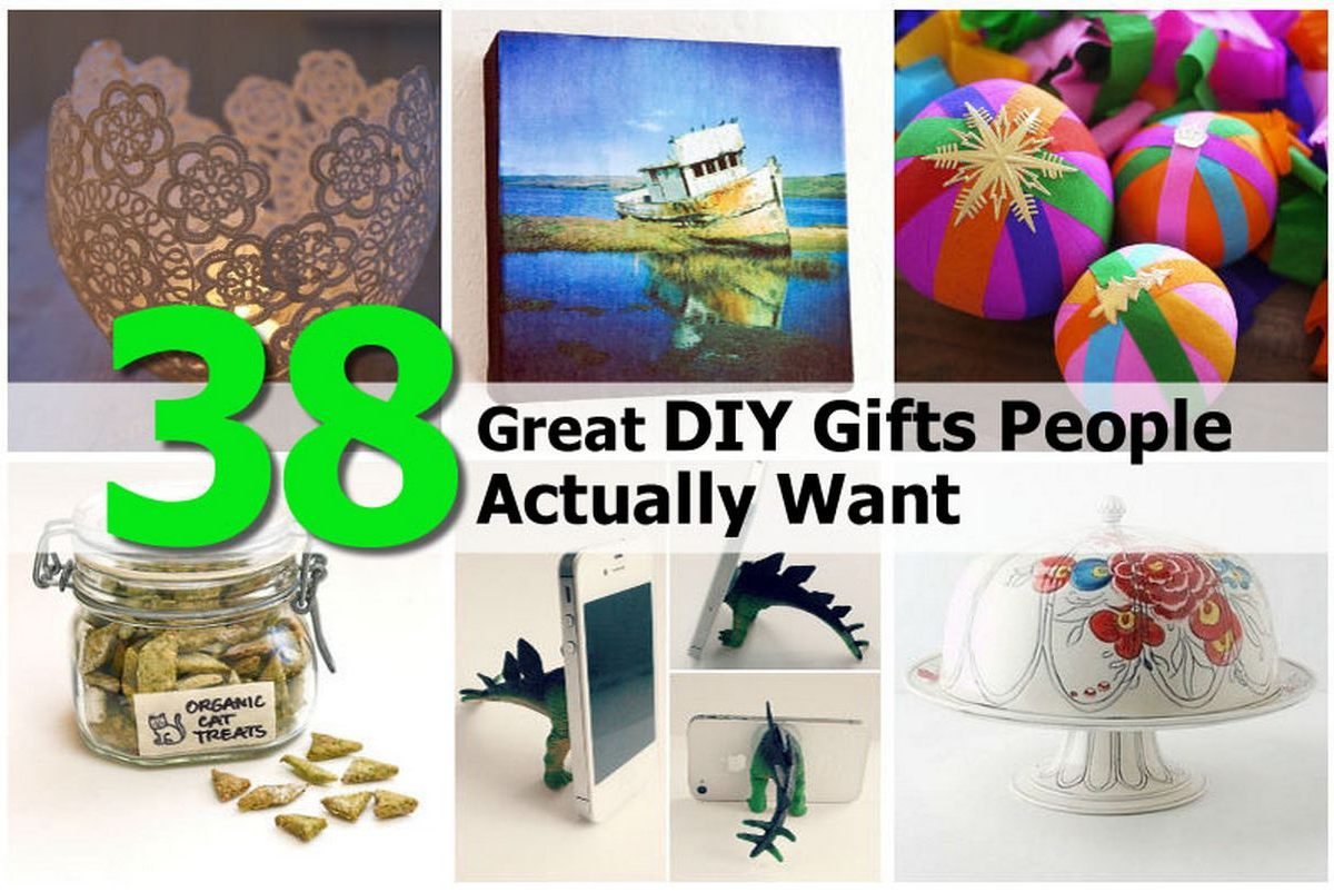 38 great diy gifts people actually want