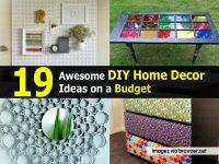 19 Awesome DIY Home Decor Ideas on a Budget