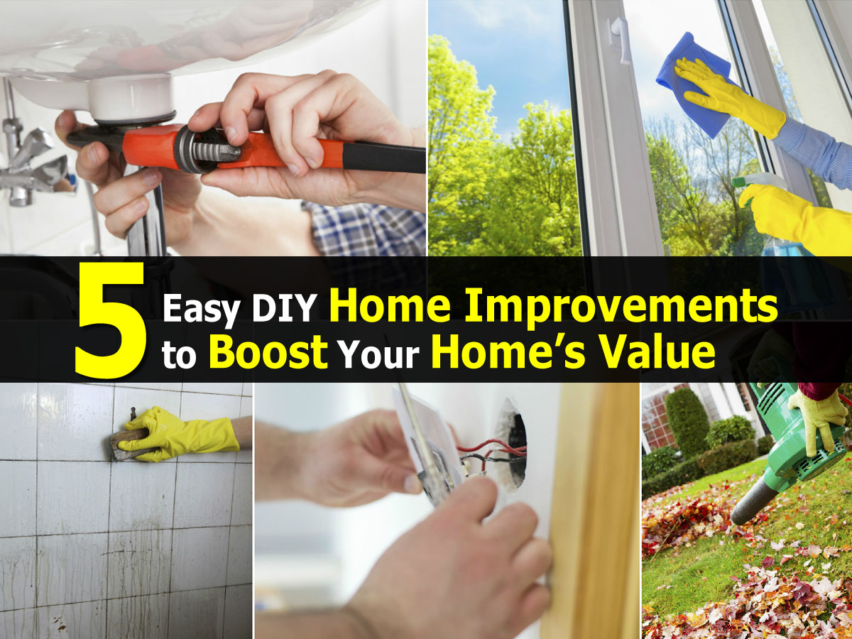 5 easy diy home improvements to boost your home s value