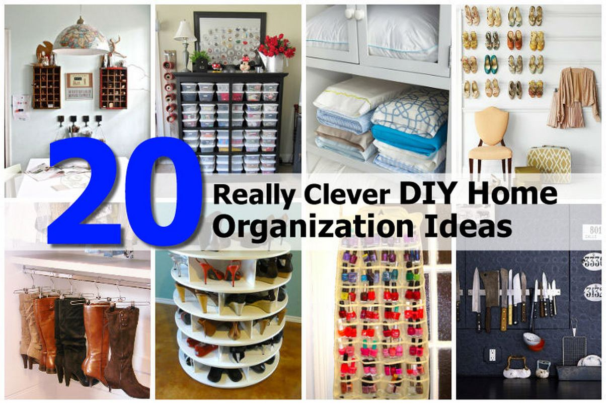 20 Really Clever Diy Home Organization Ideas Images Frompo