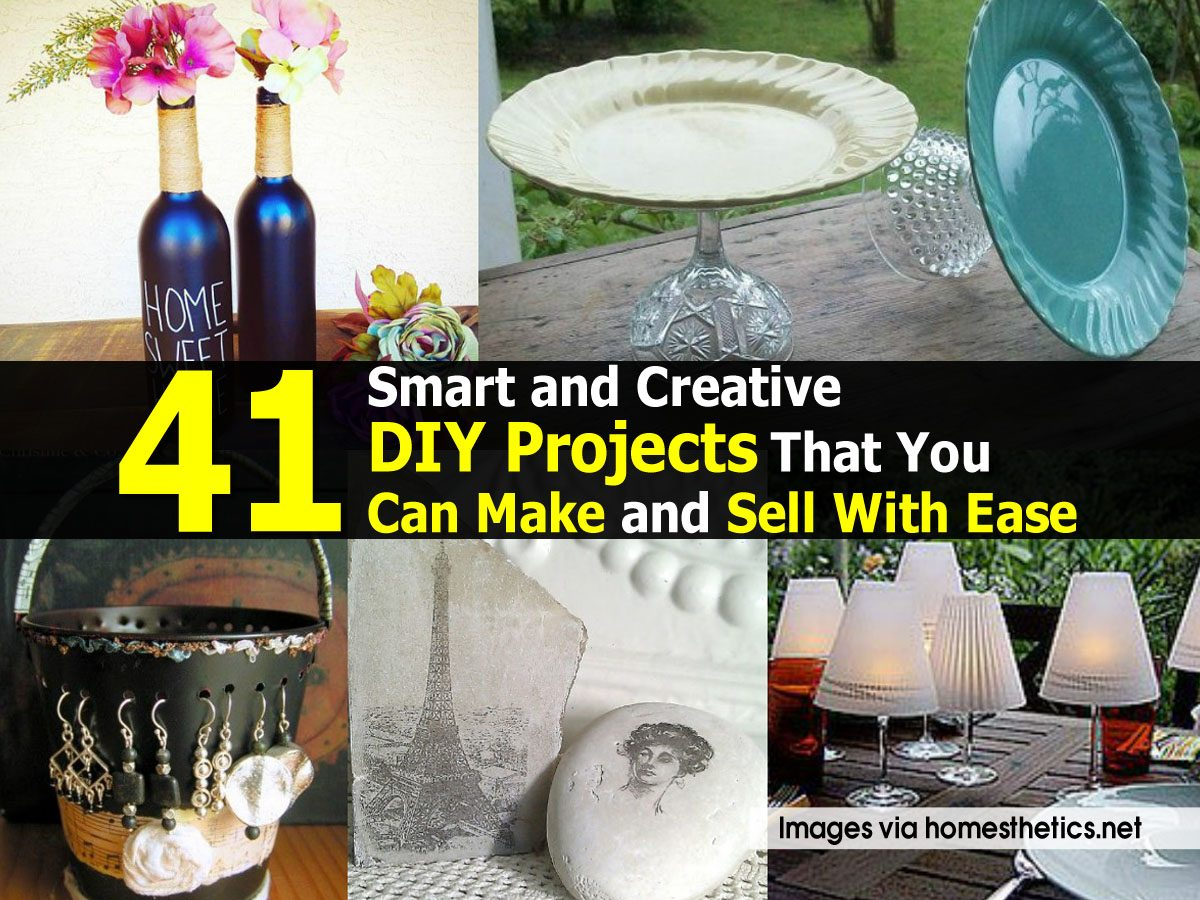 41 smart and creative diy projects that you can make and