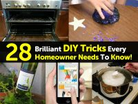28 Brilliant DIY Tricks Every Homeowner Needs To Know