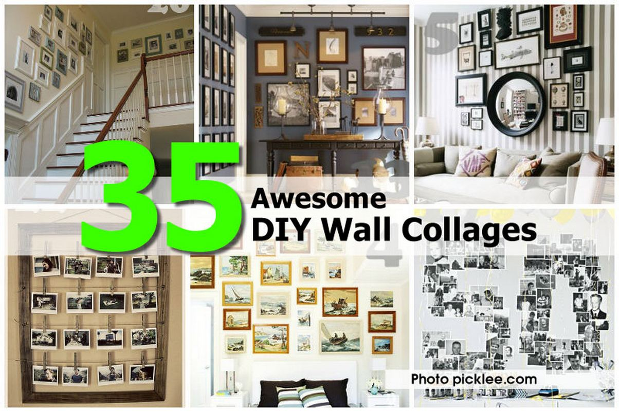 Diy Wall Frame Collage Images