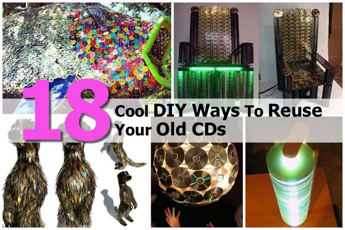 18 Cool DIY Ways To Reuse Your Old CDs