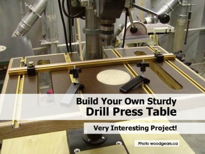 drill press is a standard tool in their arsenal but the drill press is
