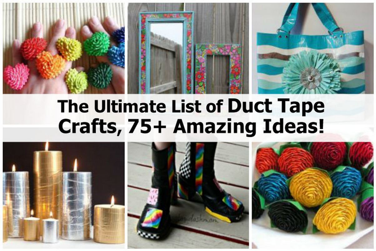easy duct tape projects