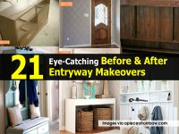 21 Eye-Catching Before & After Entryway Makeovers
