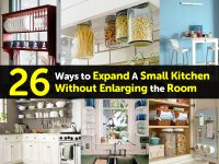 26 Ways to Expand A Small Kitchen Without Enlarging the Room