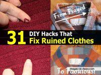 31 DIY Hacks That Fix Ruined Clothes