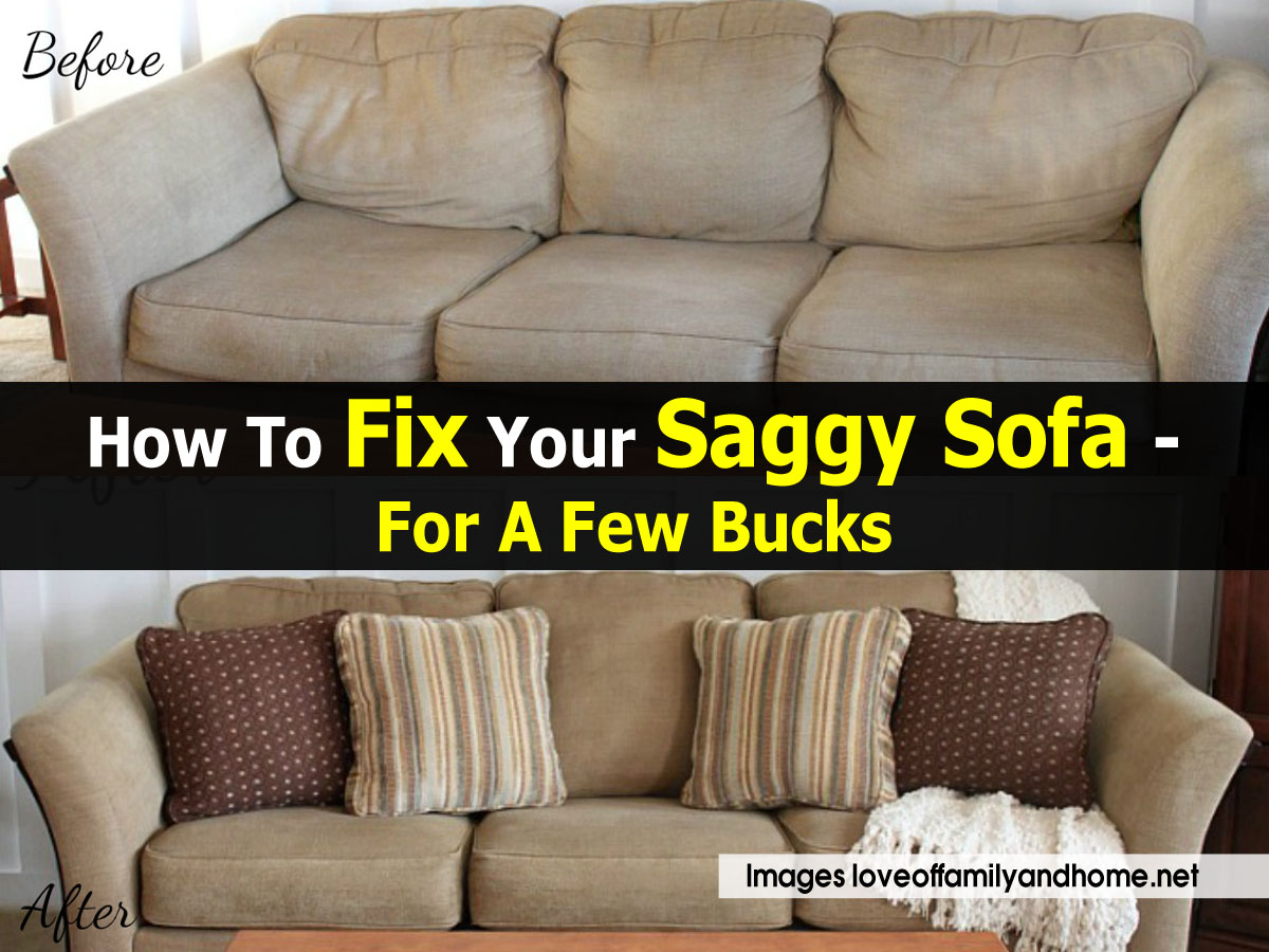 How To Fix A Saggy Sofa Easy Inexpensive Saggy Couch  : fix saggy sofa loveoffamilyandhome net from thesofa.droogkast.com size 1200 x 900 jpeg 214kB