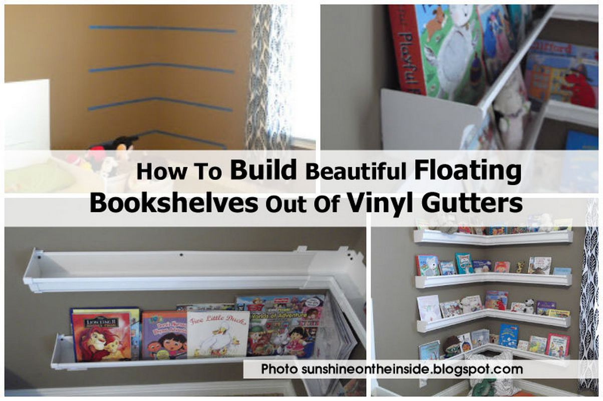 Floating Bookshelves Sunshineontheinside Blogspot Com