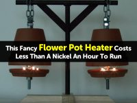 This Fancy Flower Pot Heater Costs Less Than A Nickel An Hour To Run
