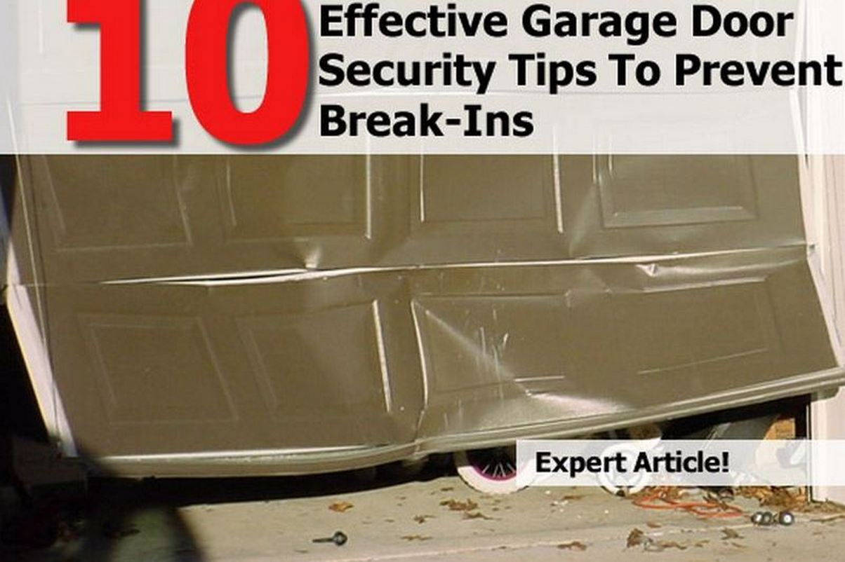 10 Effective Garage Door Security Tips To Prevent Break Ins