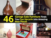 46 Garage Sale Furniture Finds You Can Upcycle into Amazing New Pieces