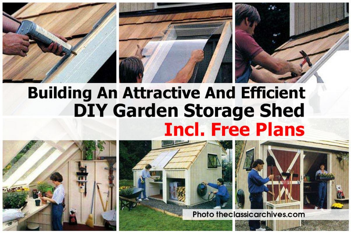 Garden Storage Shed Theclassicarchives Com