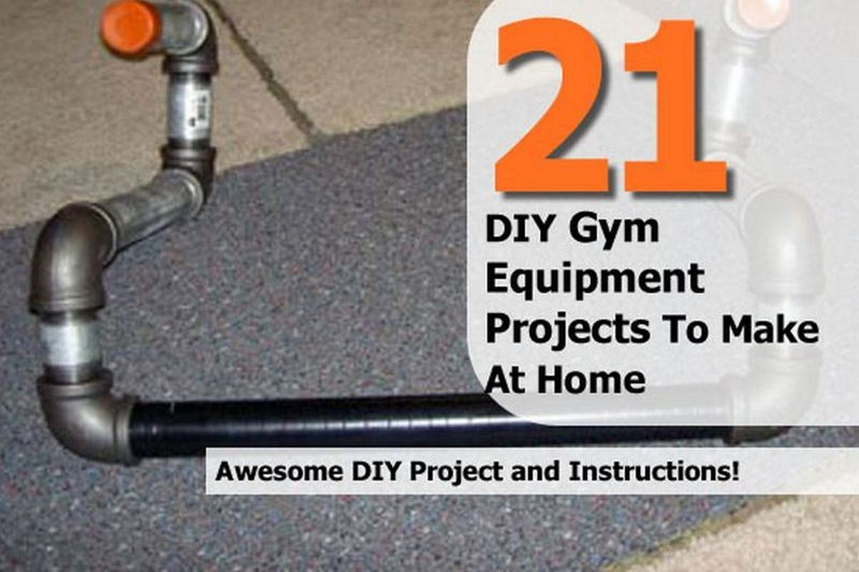 Diy gym equipment projects to make at home