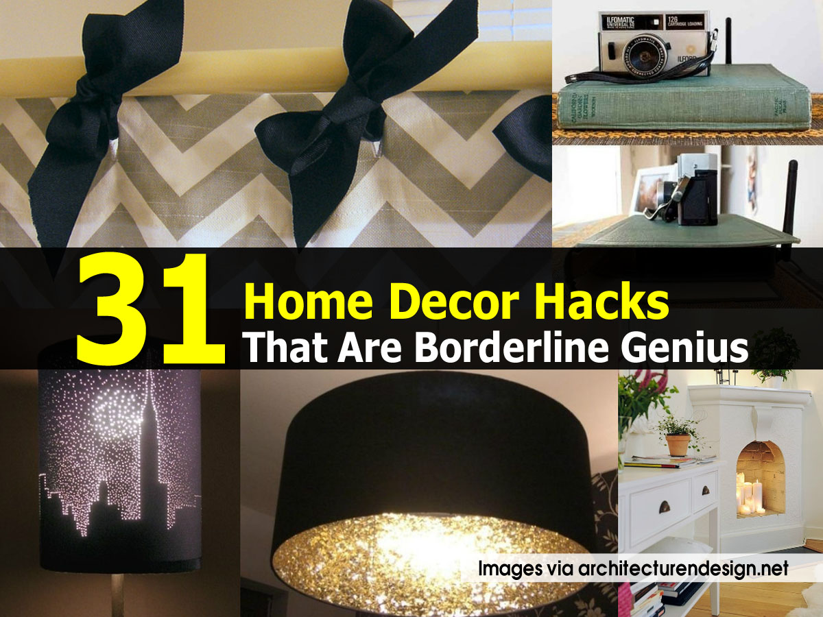 Home Decor Hacks We Should All Know By Now NuCasa With Home Decor