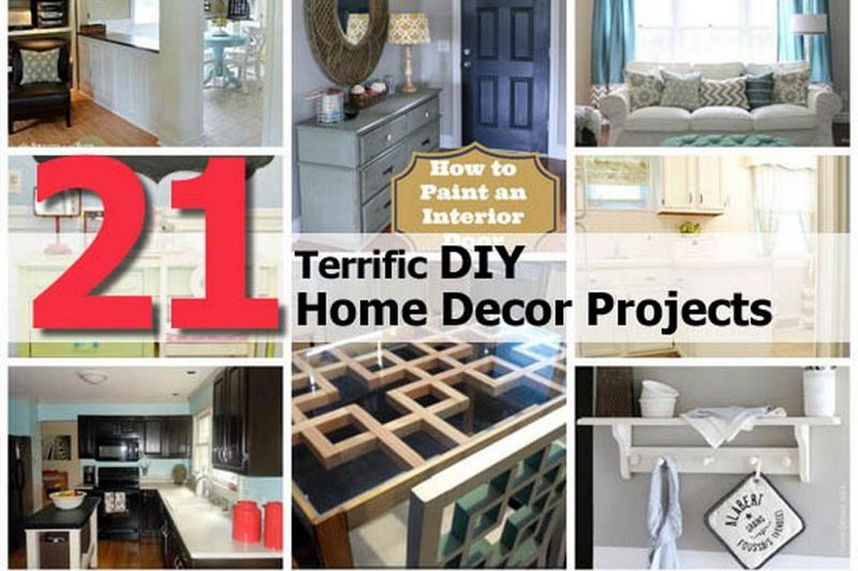 21 terrific diy home decor projects for Best diy home decor projects