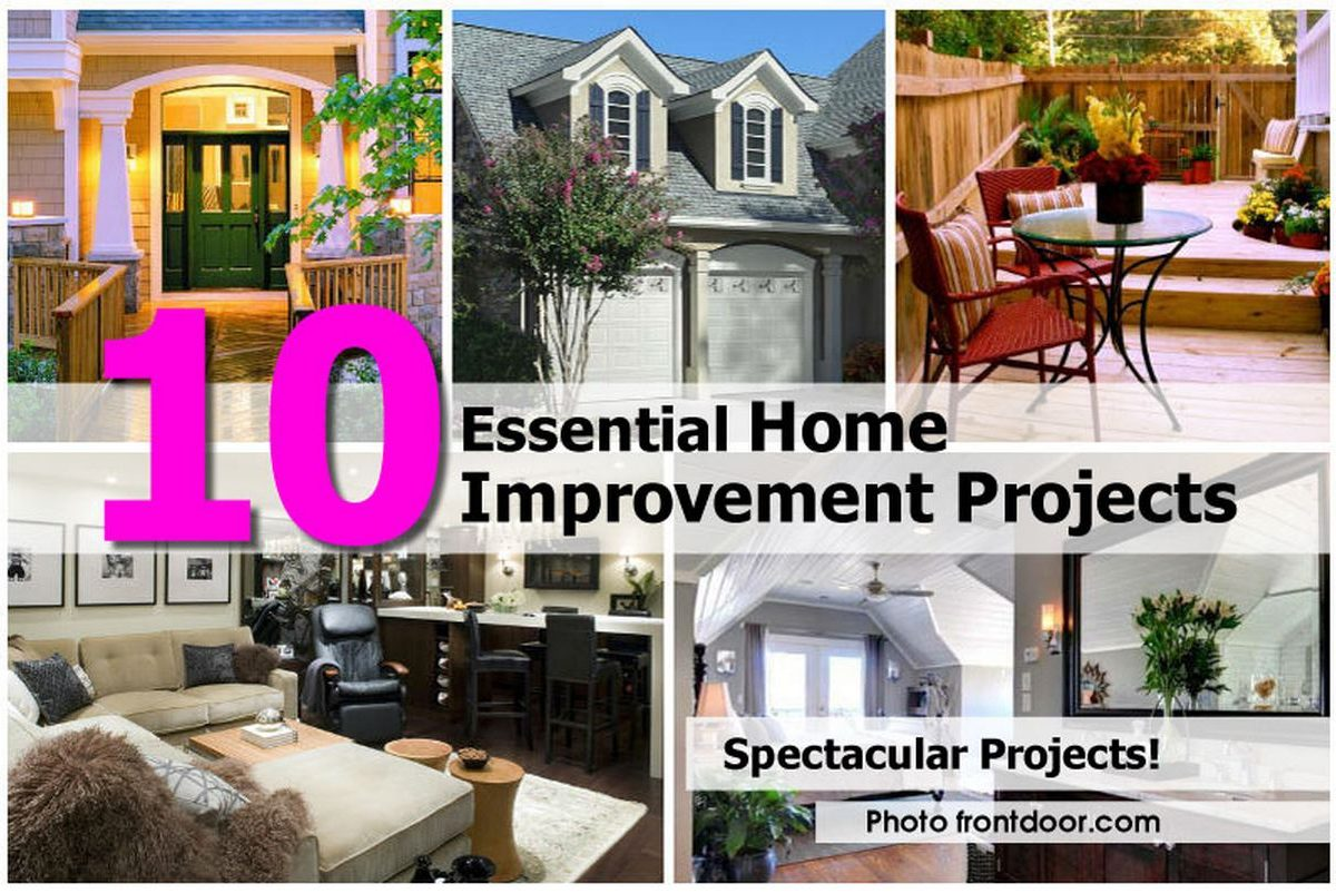 10 Essential Home Improvement Projects
