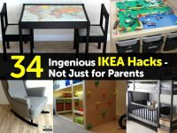 34 Ingenious IKEA Hacks – Not Just for Parents