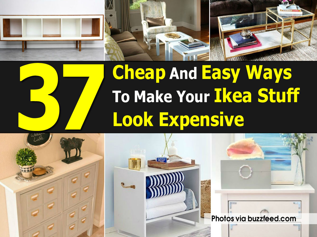 37 cheap and easy ways to make your ikea stuff look expensive for Looking for cheap furniture