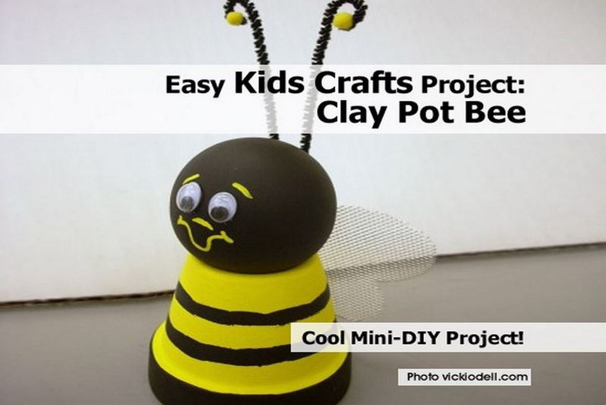 Easy Things To Make With Clay For Kids
