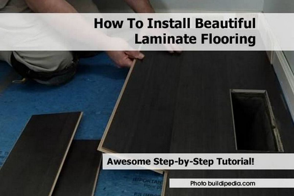 how to install beautiful laminate flooring. Black Bedroom Furniture Sets. Home Design Ideas