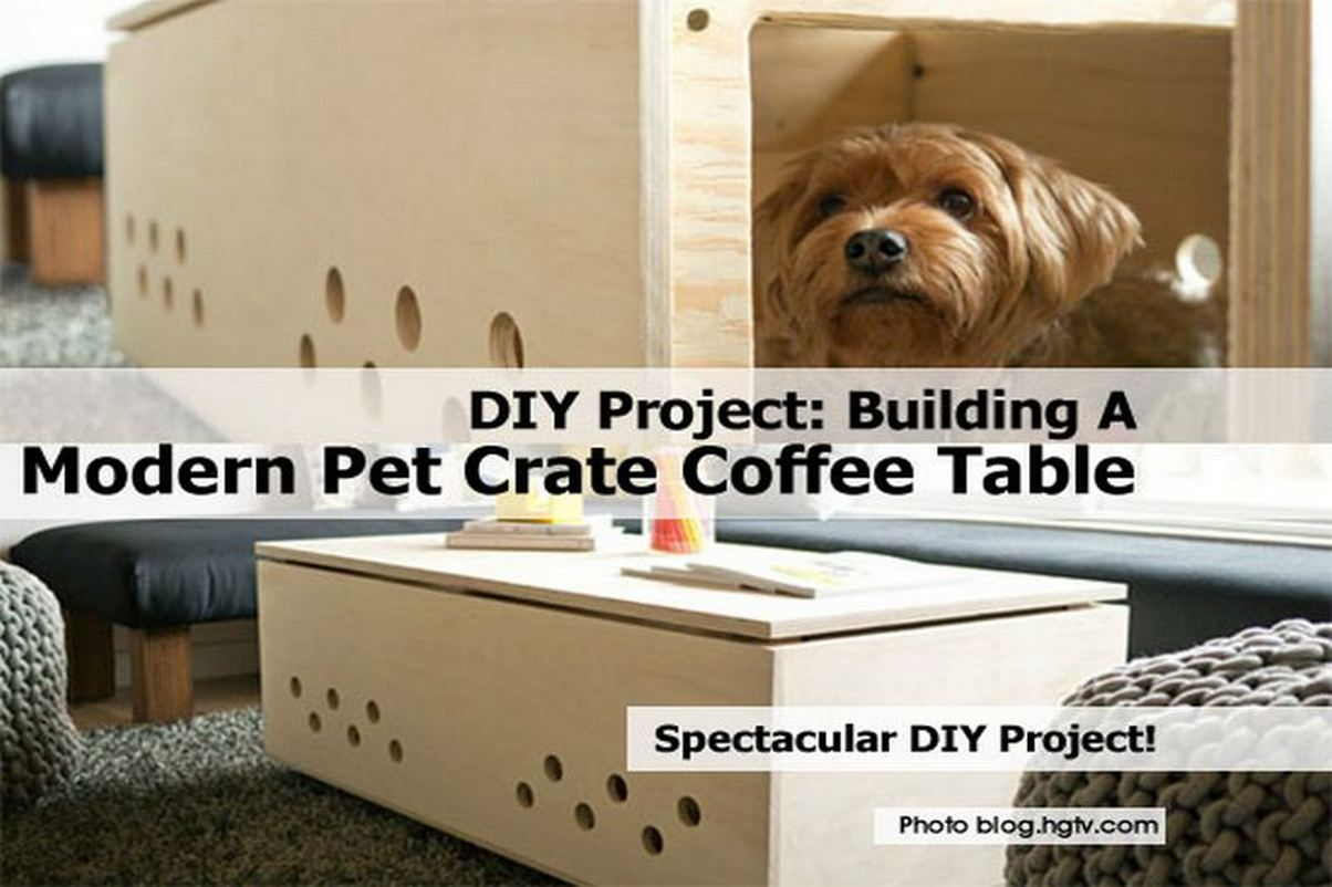 Woodworking Dog Crate Coffee Table Plans Plans PDF Download Free Dvd