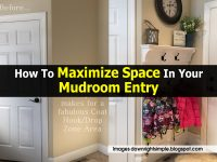 How To Maximize Space In Your Mudroom Entry