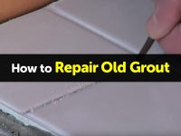 How to Repair Old Grout