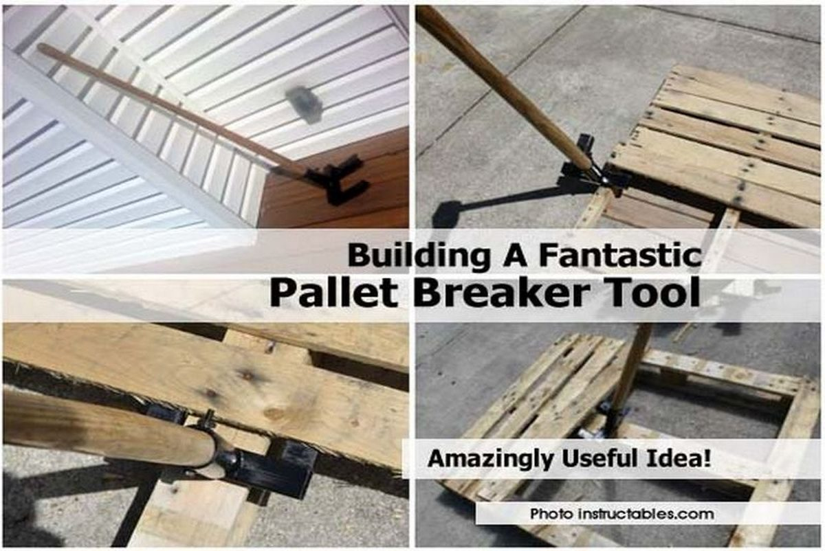 Building a fantastic pallet breaker tool Tools to build a house