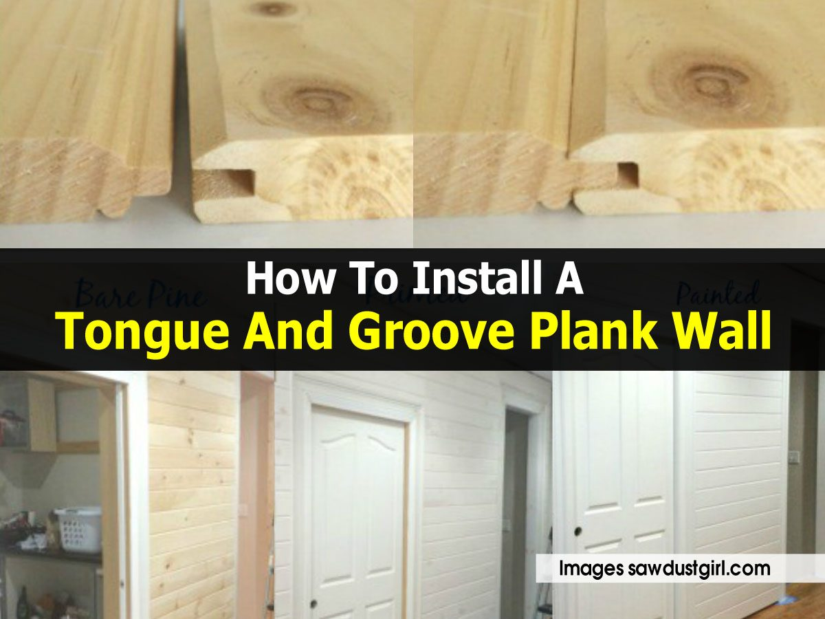 How to install a tongue and groove plank wall for Punch home and landscape design won t install