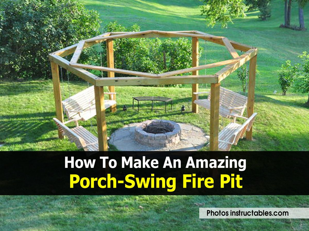 Instructables outdoor kitchen joy studio design gallery for How to build a porch swing