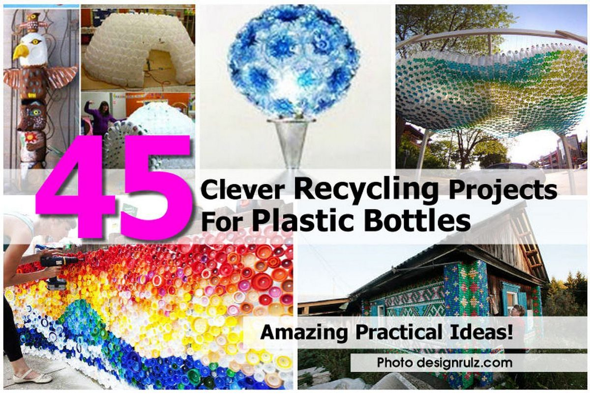 45 clever recycling projects for plastic bottles - Diy projects using plastic bottles ...