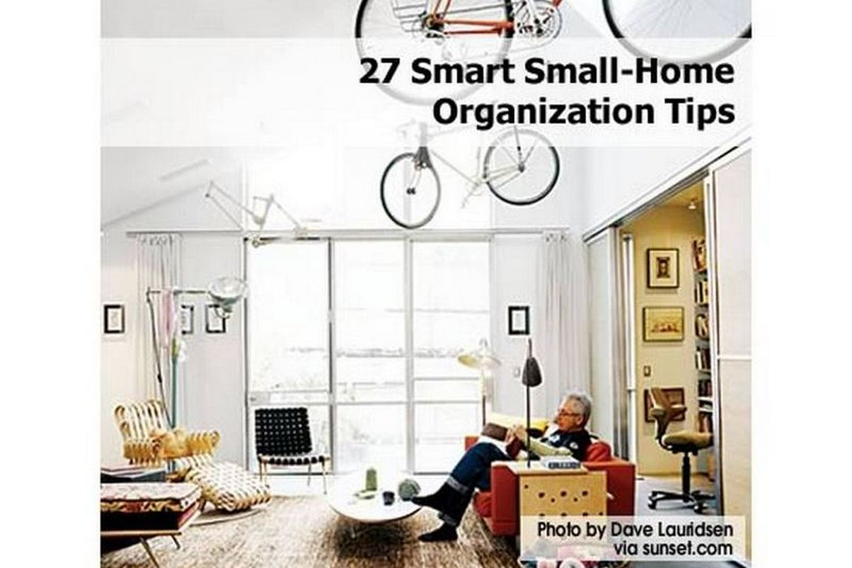 27 smart small home organization tips for Smarter small home