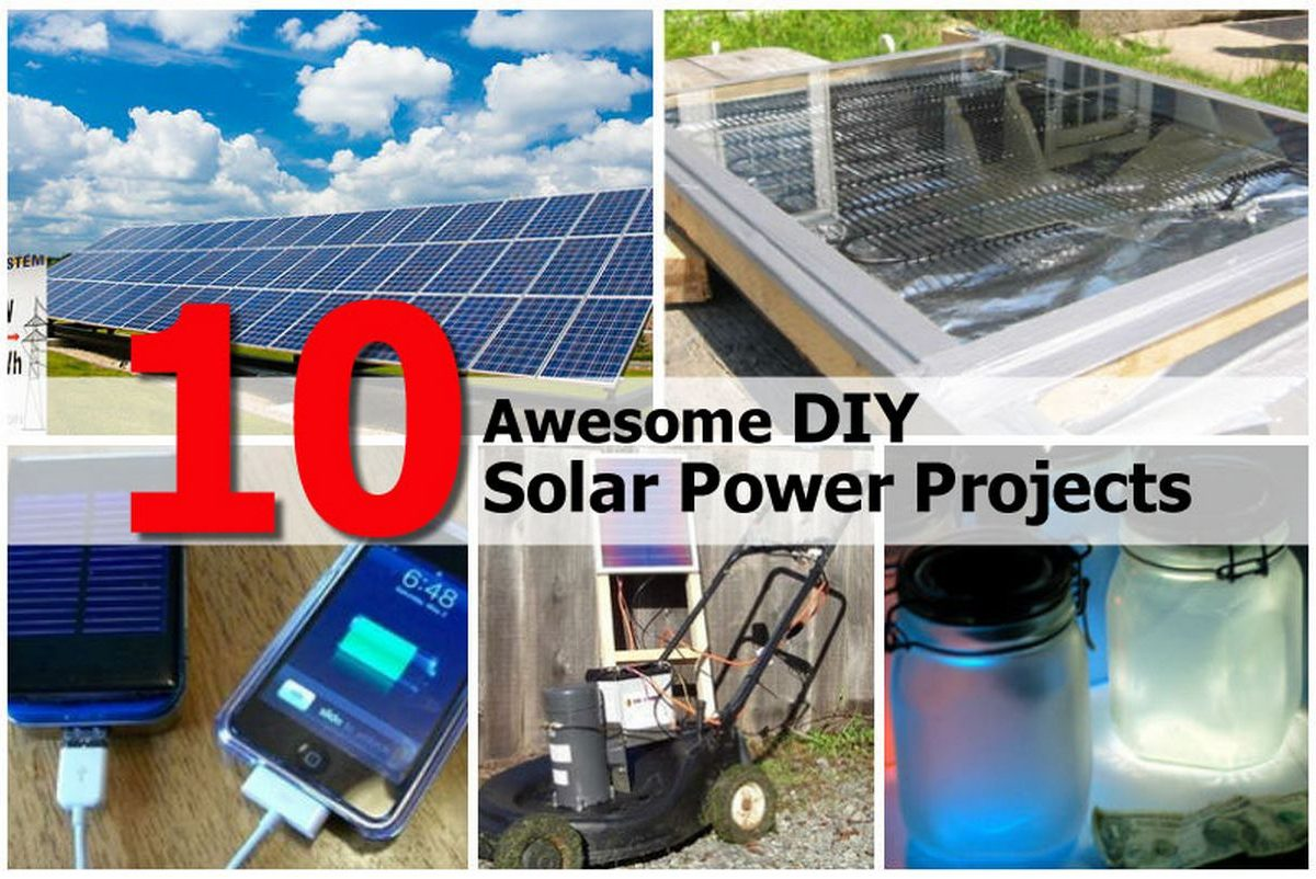 10 Awesome DIY Solar Power Projects