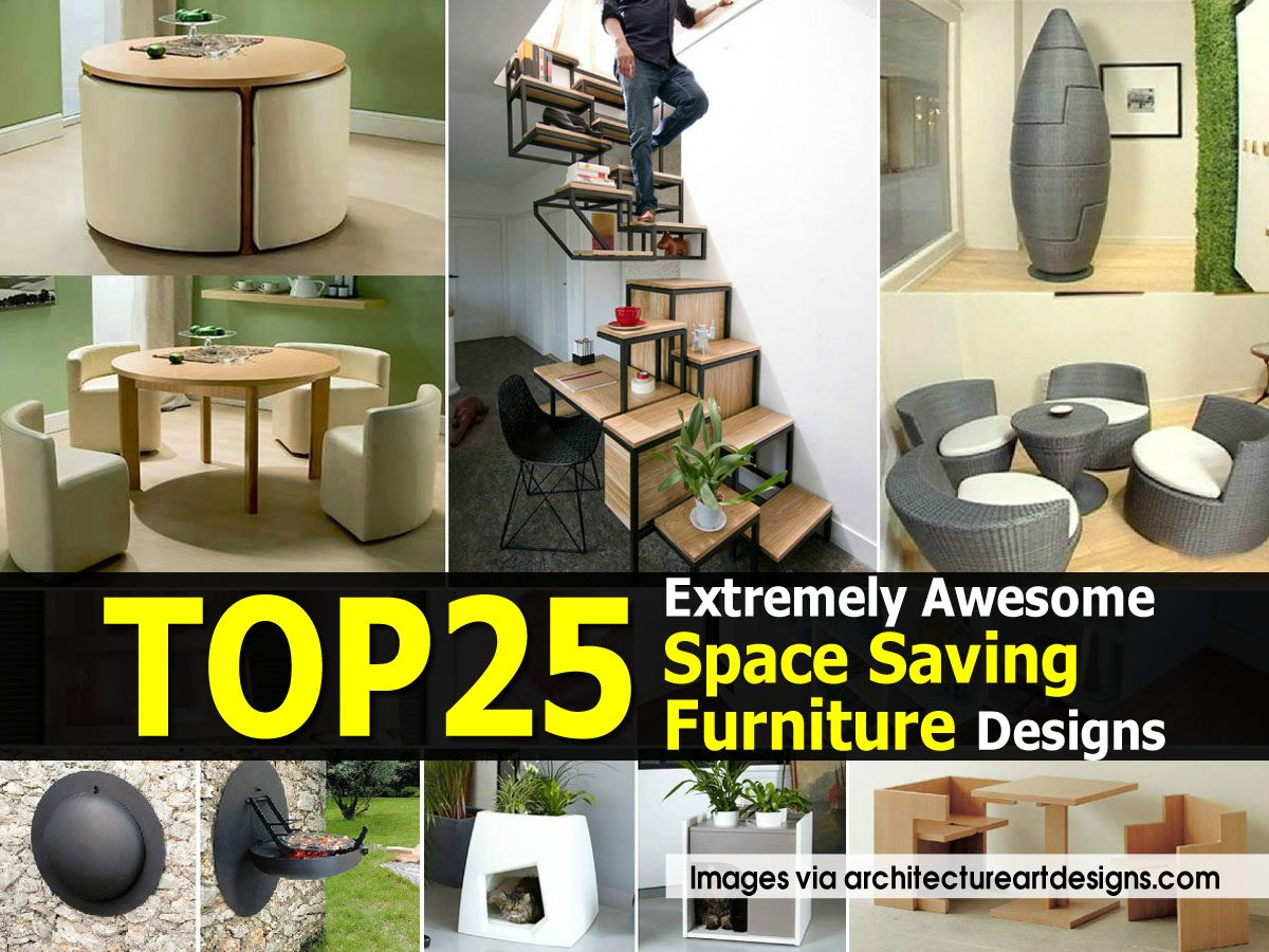 top 25 extremely awesome space saving furniture designs